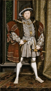 Henry VIII (1509-47) - somehow he always manages to force his way into the discussion!
