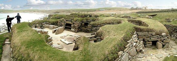 The Neolithic village of Skara Brae, Orkney