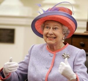 Good news - the Queen is still the Queen!