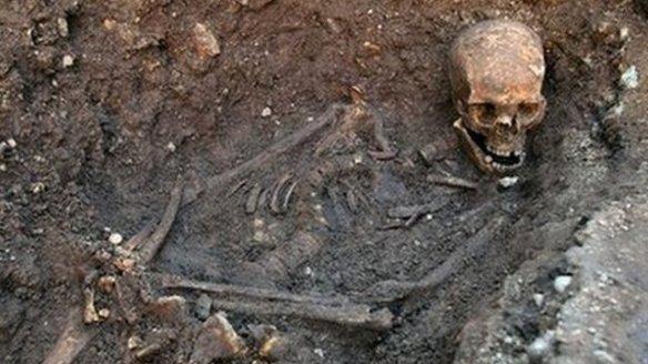 Richard III's skeleton exhumed in 2012