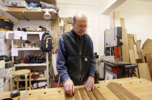 Michael Ibsen, Richard's descendant and coffin maker.