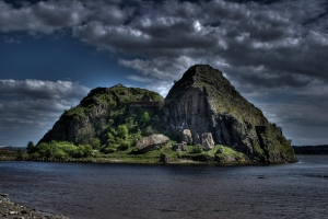 The fortress of Dumbarton Rock may have fallen thanks to Constantine's meddling