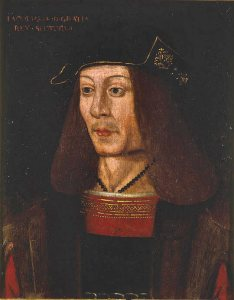 James IV of Scotland, who came a cropper at Flodden