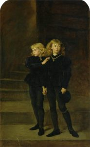 The Princes in the Tower (by Millais)