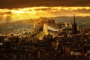 Edinburgh, albeit somewhat more developed now than under Indulf