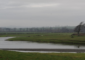 The River Tweed, location of the Battle of Carham