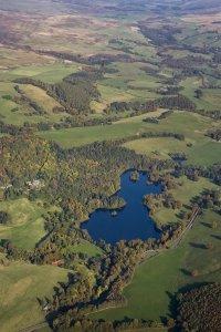 Loch Monzievaird in Perthshire, where Kenneth III was killed