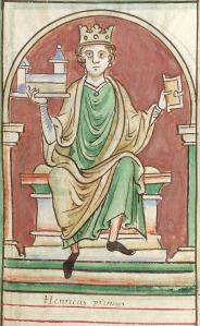 Henry I of England, who rather lorded it over Alexander