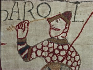 Harold II takes an arrow in the eye at Hastings - or does he?