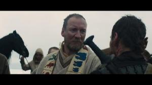 Duncan in Shakespeare's Macbeth, portrayed by David Thewlis