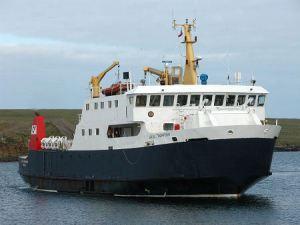 Earl Thorfinn - in ferry form!