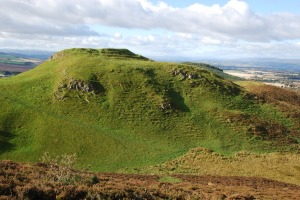 Dunsinane Hill, where Macbeth did lose a battle but was not killed