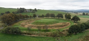 The peel at Lumphanan, where Macbeth is said to have been killed by Malcolm III
