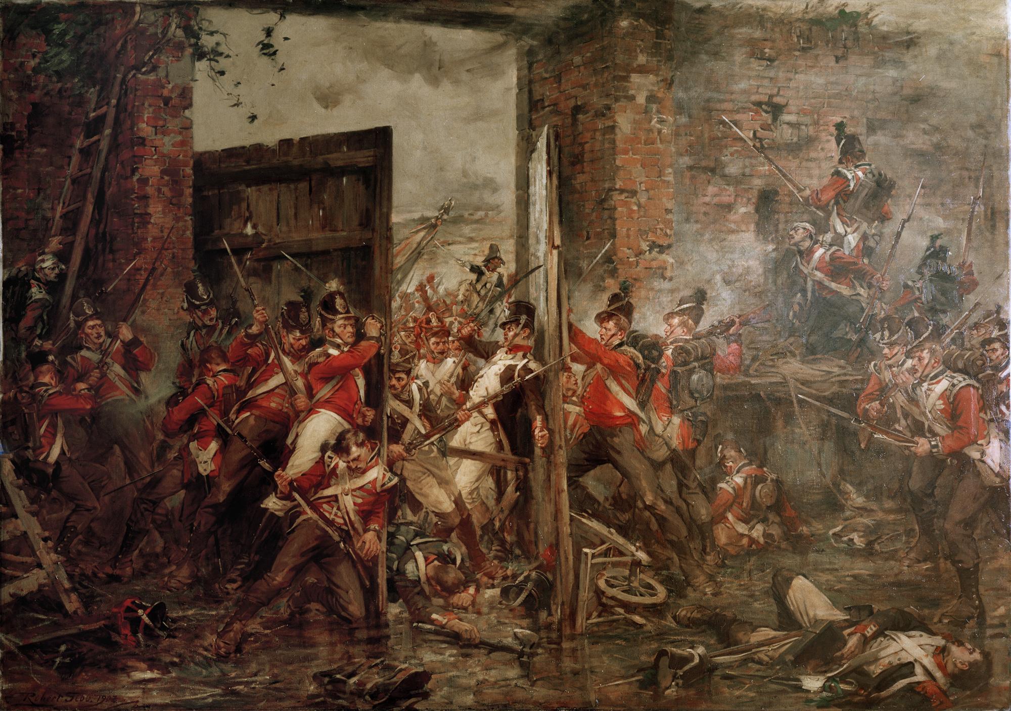 Famous Paintings Of Waterloo