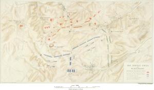 The battlefield of Waterloo