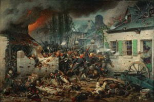 The Prussians attack Plancenoit