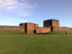 William Rufus built Carlisle castle in an attempt to establish English dominance in the region