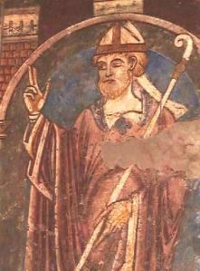 St Cuthbert apparently promised Edgar victory