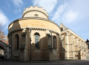 Temple Church in London, where William Marshal was buried