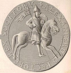 Alexander I (as a mounted knight on the reverse of his seal)