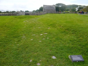 The Street of the Dead on Iona, reportedly leading to where the old Scottish kings were buried