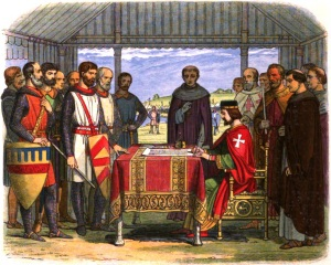Alexander II featured in clause 59 of Magna Carta