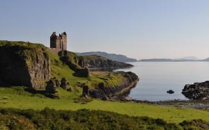 Gylen Castle on Kerrera, where Alexander II died (Photograph by: Iain Thornber)