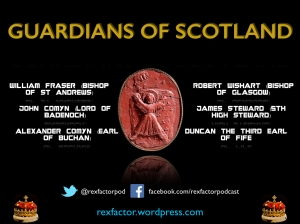 The Guardians of Scotland and the seal of St Andrew