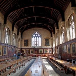 Balliol College, Oxford, founded by John Balliol's father