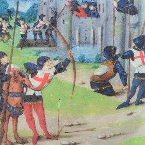 Edward I massacred the civilian population of Berwick in 1296