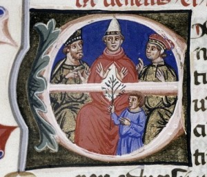 Pope Alexander III, who would try to mediate a solution to the dispute