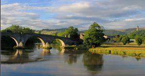 Stirling Bridge (the modern bridge is close to the site of the battle)