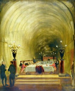 The Thames Tunnel banquet