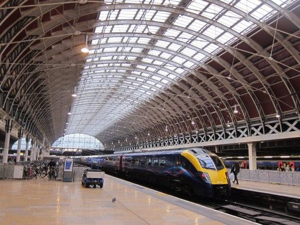 Paddington Station, the London terminus for the Great Western Railway