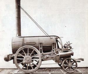 Stephenson's Rocket train (Photo by Popperfoto/Getty Images)